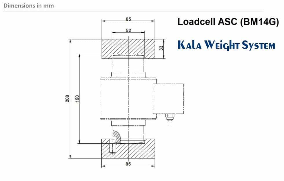 Loadcell BM14G-30t 1