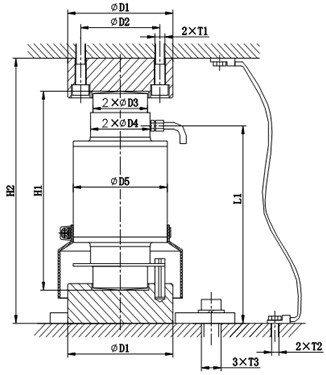 Loadcell ZSFB-D 30t 1